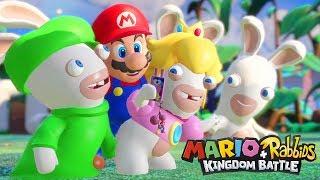 Gameplay / Let's Play sur Mario + Rabbids Kingdom Battle en français (FR)! Pensez à vous abonner...