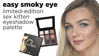 easy smoky eye with sex kitten eyeshadow palette