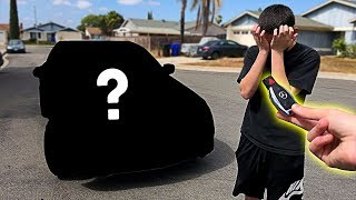 Video I pranked him... then I BOUGHT him his DREAM CAR!! **emotional surprise** MP3, 3GP, MP4, WEBM, AVI, FLV Maret 2019