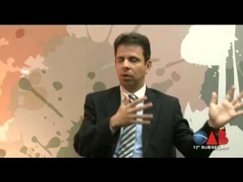 OAB na TV Online – nº 08 – 12ª Subseção OAB/SP – Entrevistado:  Paulo Henrique Marques de Oliveira sobre Comércio Eletrônico