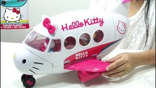 Video Airline Playset Hello Kitty Toys Review 💖 Mainan Anak Pesawat Pesawatan 💖 Let's Play Jessica MP3, 3GP, MP4, WEBM, AVI, FLV Juli 2018
