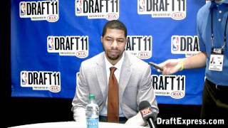 Markieff Morris - 2011 NBA Draft - Media Day Interview