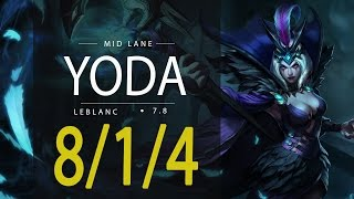 ~~~~Deixe o seu like, se inscreva e comente!!~~~~RED YoDa League of Legends ReplayYoDa as LEBLANC MID - Season 7Patch 7.8Runas e Talentos: http://matchhistory.br.leagueoflegends.com/pt/#match-details/BR1/1068261116/202579568?tab=builds&participant=6