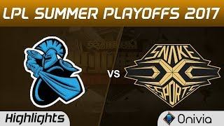 NB vs SS Highlights Game 3 LPL SUMMER PLAYOFFS 2017 NewBee vs Snake by Onivia Make money with your LoL knowledge...