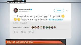 Datuk Siti Nurhaliza puji Idayu