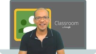 Google Sala de Aula - Treinamento online e gratuito de como utilizar esta ferramenta fantástica do Google.