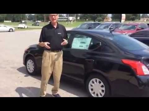 BJ Perkins And Townsend Nissan Go Over The Value Of Buying A New 2016 Versa S Plus