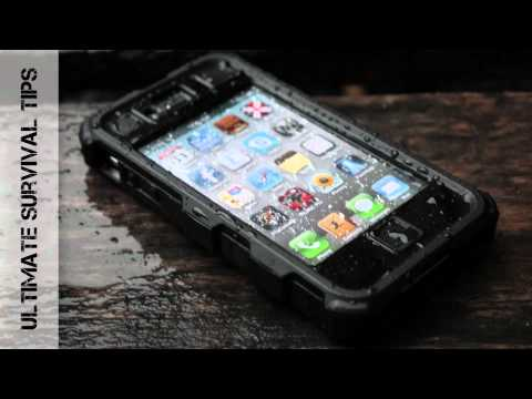 iphone 4S case cover - NEW iPhone Survival Case Review from http://ultimatesurvivaltips.com - Today we're reviewing the Ballistic HC Case to see if it is the toughest, most rugged,...
