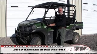 5. ATV Television - 2015 Kawasaki MULE Pro-FXT Long-Term Test