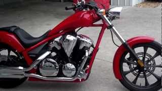 9. 2013 Honda Fury SALE at Honda of Chattanooga! Red VT1300CX Fury Walk Around Video