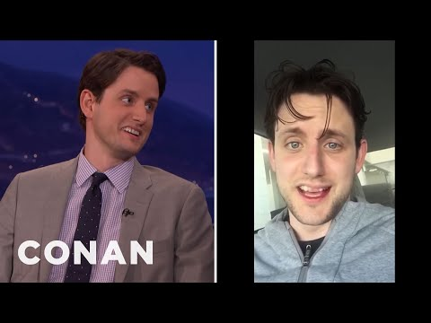 Zach Woods' Wisdom Teeth Reaction Video  - CONAN on TBS