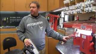 Penguins Equipment Manager RAW INTERVIEW - Sidney Crosby Skate Prep, Dana Heinze