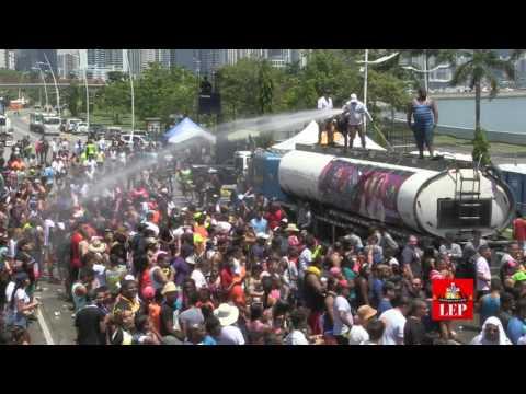 Asistencia al carnaval capitalino supera la del 2016