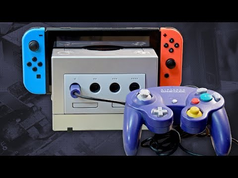 Gamecube Dock for Nintendo Switch - Working controller ports - DIY project