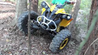 4. Can Am Renegade 800r - Low Range 4x4 Crawling HD
