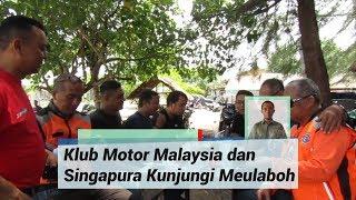 Klub Motor Malaysia dan Singapura di Aceh Barat, Dijamu Kopi Tubruk Khas Meulaboh