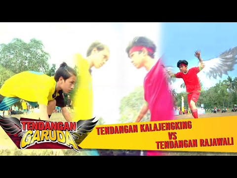Fandy VS Iqbal! Tendangan Kalajengking VS Tendangan Garuda - Tendangan Garuda Eps 86