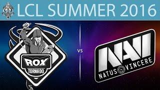 RoX vs NaVi.CIS, game 1