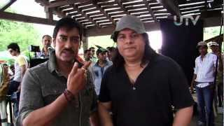 Ajay Devgn, Sajid Khan - Behind The Scenes - Himmatwala