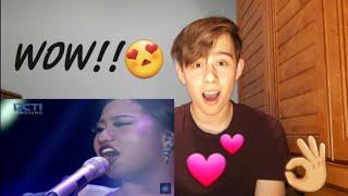 Video MARIA - NEVER ENOUGH (Loren Allred) - Spekta Show Top 7 - Indonesian Idol 2018   REACTION MP3, 3GP, MP4, WEBM, AVI, FLV Maret 2018