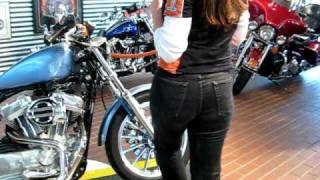 10. 2006 Harley-Davidson Sportster 883 Low Blue XL883L