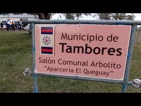 Vecinos de Arbolito realizaron varios reclamos al Intendente Olivera