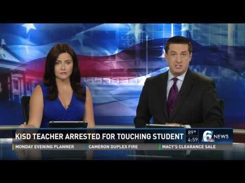 KISD teacher arrested for touching student