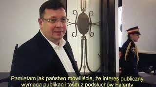 Według wiceministra sprawiedliwości Michała Wójcika, ujawnienie nagrań z deweloperem Kaczyńskim jest przekroczeniem granic…
