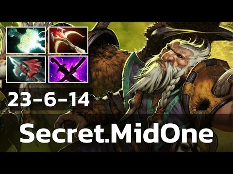 Secret MidOne • Lone Druid • 23-6-14 — Pro MMR