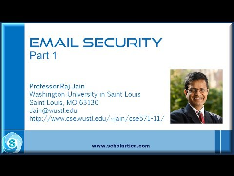 how to provide an email security with pgp