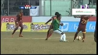 Bangabandhu Gold Cup 2016 - Bangladesh 4-2 SriLanka - Extended highlights