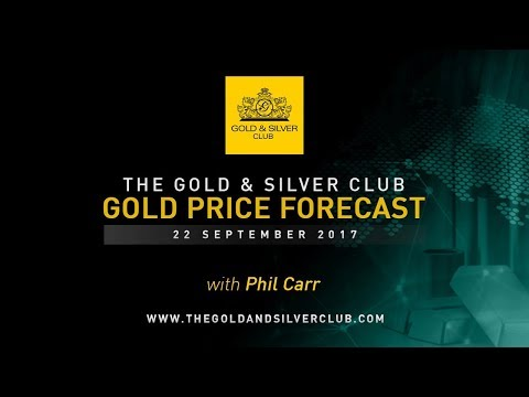 GOLD PRICE FORECAST: Sept 22, 2017   Gold Drops As Fed Turns Hawkish