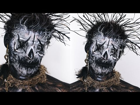 WITCH DOCTOR OR EL CUCUY? HALLOWEEN MAKEUP | DESI PERKINS