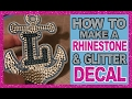 Download Lagu How to make the Ultimate Decal With Siser Glitter HTV and Rhinestones Mp3 Free