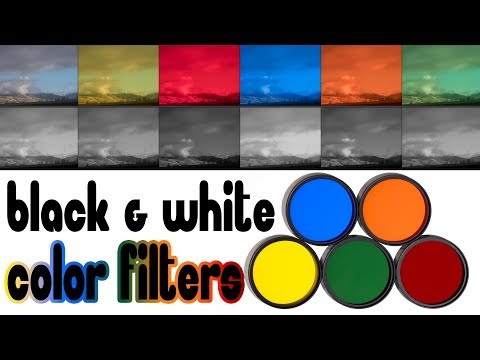 Color Filters for Black & White Photography ► Bringing Back the Old Basics (PLUS: Contest Info)