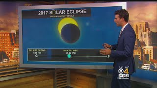 WBZ-TV Chief Meteorologist Eric Fisher explains the anatomy of a solar eclipse and where to get the best view on August 21.