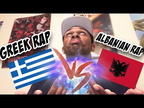 Greek Rap Vs Albanian Rap (must Watch!!!)