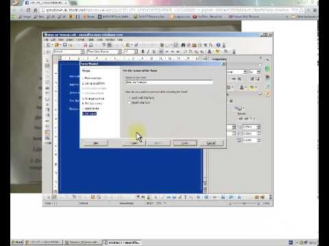 4.0.1 - Simple Open Office Base 4.0.1 Tutorial --- PTT RULZ ~~~