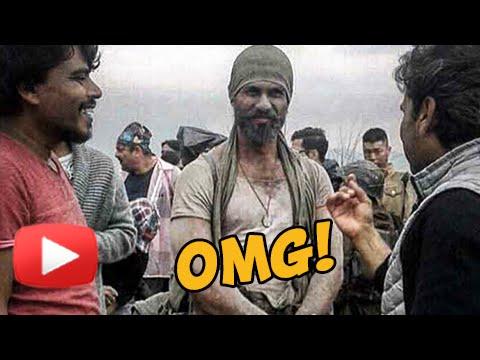Never Seen Before Shahid Kapoor Rugged Look In Ran