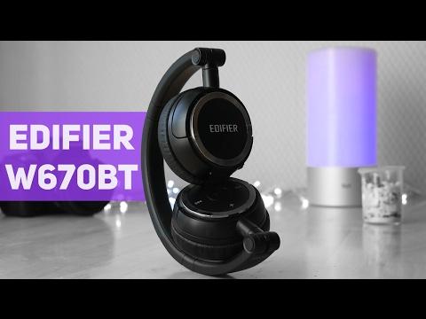 Лучшие беспроводные наушники? Кратко о Edifier W670BT (видео)