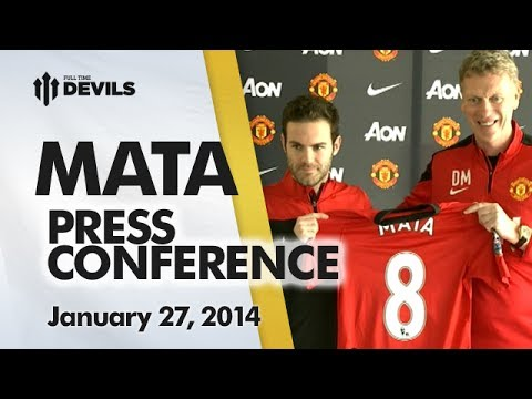 Juan Mata/David Moyes Press Conference