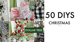 🎄50 DIY DOLLAR TREE CHRISTMAS DECOR CRAFTS 2019🎄Dollar Tree