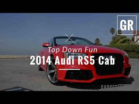 2014 Audi RS5 Cabriolet Review