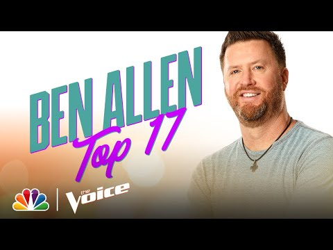 "Ben Allen Sings Kenny Chesney's ""There Goes My Life"" - The Voice Live Top 17 Performances 2020"