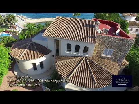 Buy seafront luxury villa in Benissa at the Costa Blanca