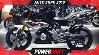 7. BMW G310R & G310GS @ Auto Expo 2018 : PowerDrift
