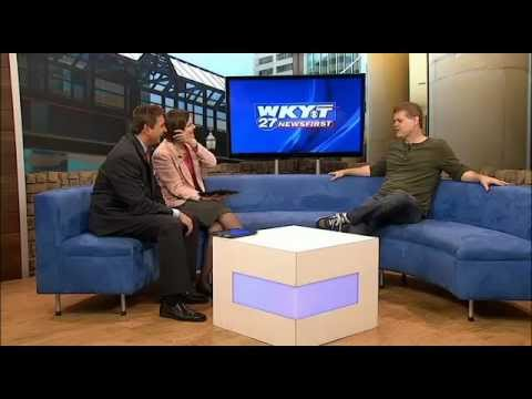 WKYT 27 NewsFirst at Noon 04-26-12 Greg Warren - Comedy Off Broadway