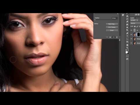 Frequency separation and Imagenomic Portraiture Plugin(Complete) by Eric Morales