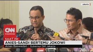 Video Anies - Sandi Bertemu Jokowi, Bahas Apa? MP3, 3GP, MP4, WEBM, AVI, FLV Februari 2018