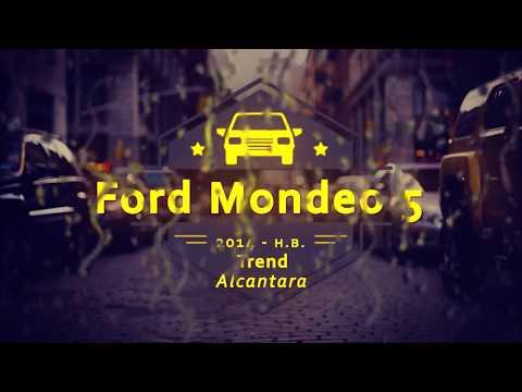 """Чехлы на Ford Mondeo 5 Trend, серии """"Alcantara"""" - серая строчка"""